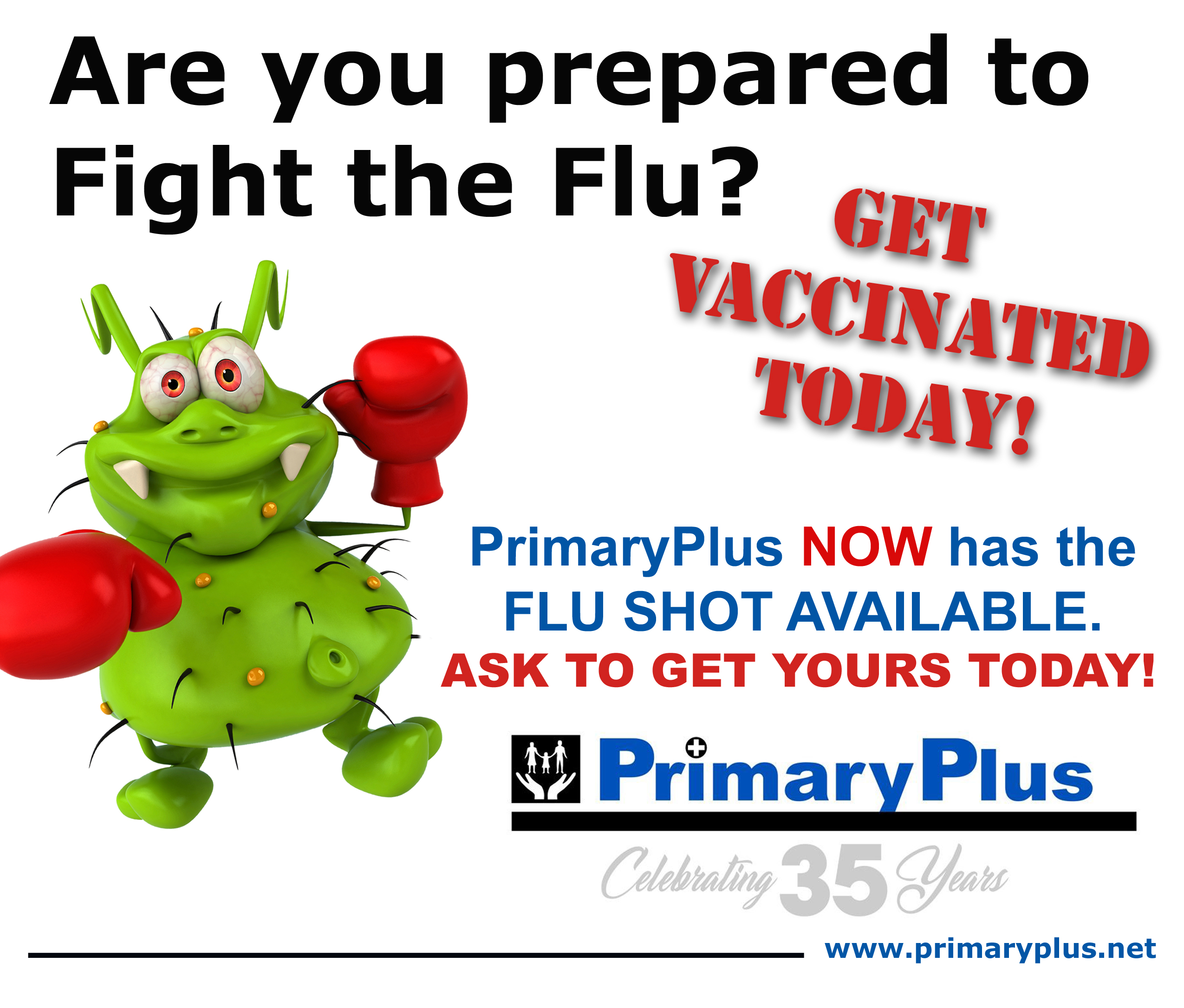 Shoo Away the Flu: Get Vaccinated News